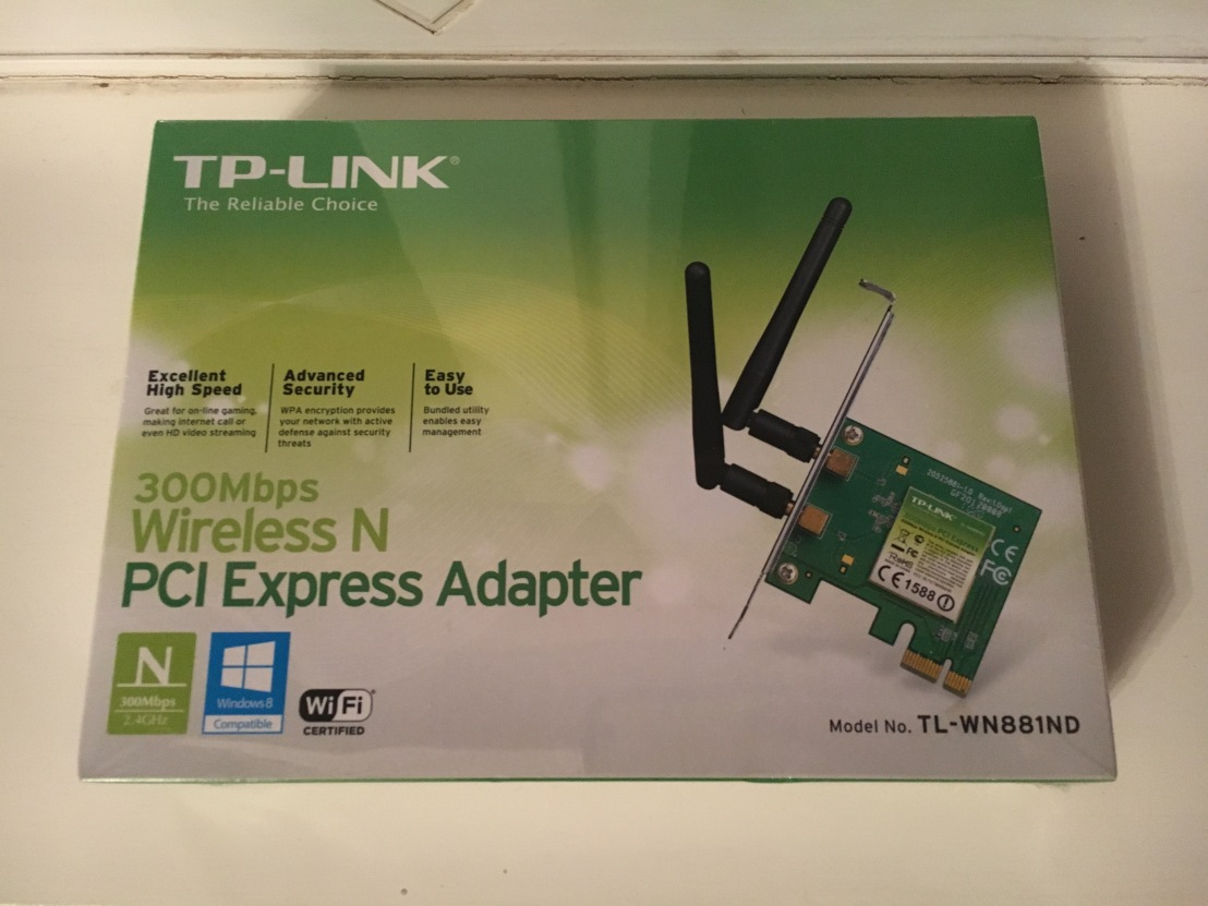 Best WiFi Card Under £15? TP Link 300Mbps WiFi Card Review
