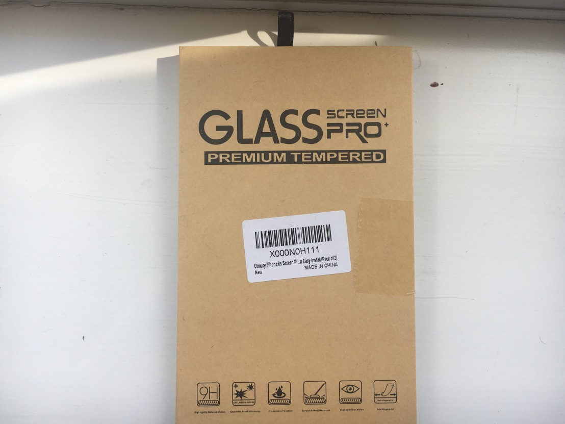 Utmury iPhone 7 Tempered Glass Screen Protector Review